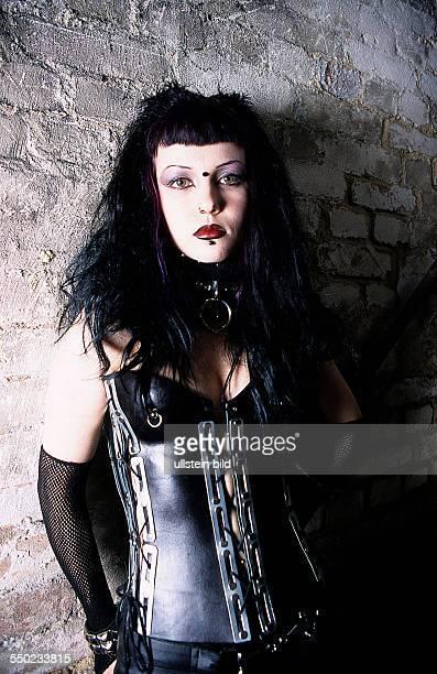 GothicGirl in Lack und Leder