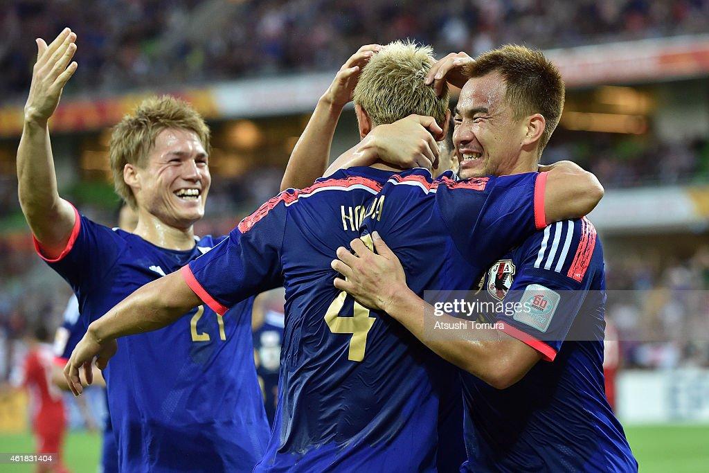 Japan v Jordan - 2015 Asian Cup : News Photo