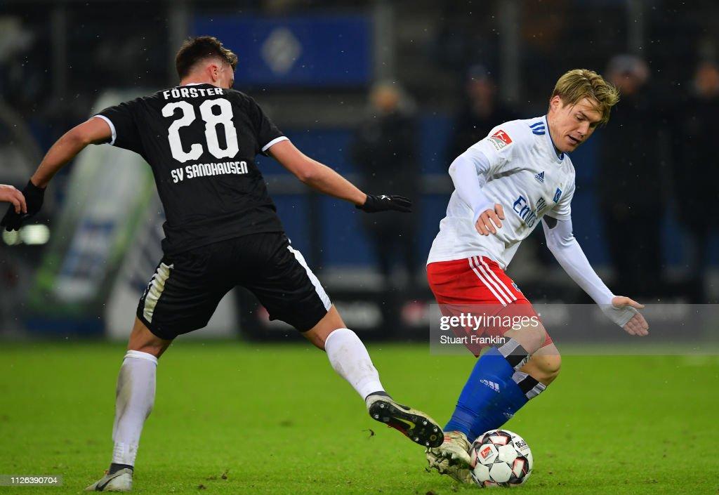 Hamburger SV v SV Sandhausen - Second Bundesliga : Nachrichtenfoto