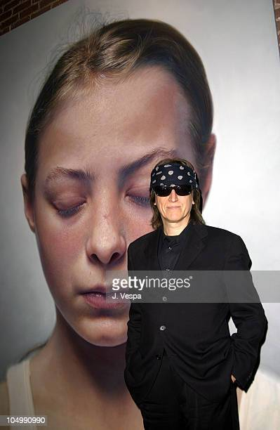 Gottfried Helnwein during Traction 811 Gallery Group Show Hosted by Jason Lee Linear City and Red Stripe at Traction 811 Gallery in Los Angeles...