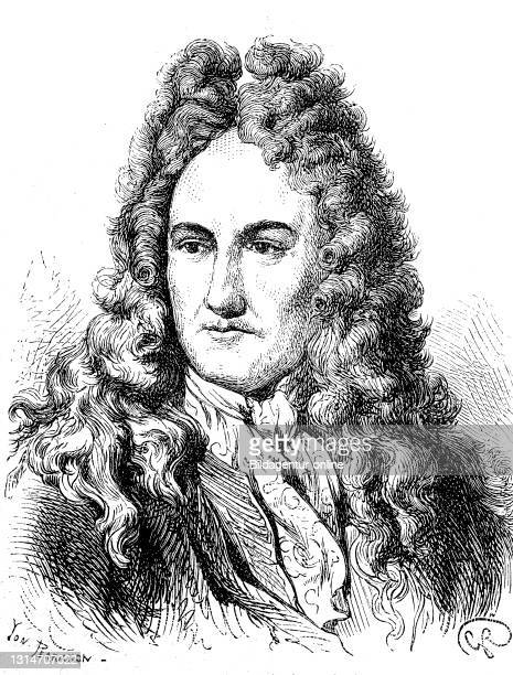 Gottfried Wilhelm Leibniz, 1 July 1646 - 14 November 1716, a German philosopher, mathematician, jurist, historian and political advisor of the early...