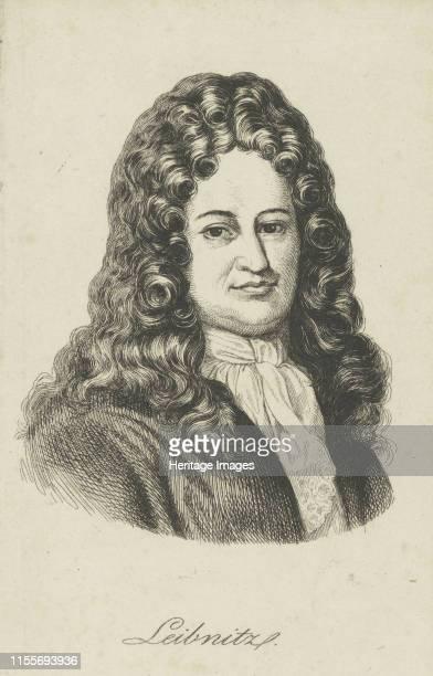 Gottfried Wilhelm Leibniz , circa 1800. Private Collection. Artist Anonymous.