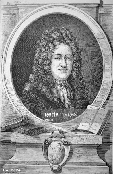 Gottfried Wilhelm Leibniz German mathematician and philosopher. Engraving, Paris, 1874.