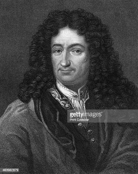 Gottfried Wilhelm von Leibniz, German philosopher and mathematician, . Leibniz published his system of infinitesimal calculus in 1684, three years...