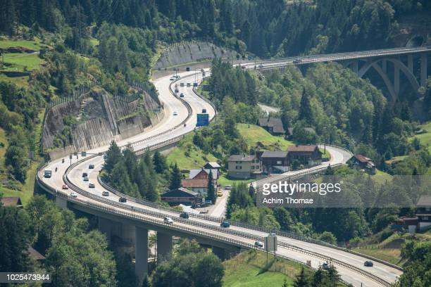 Gotthard Highway, Wassen, Switzerland, Europe