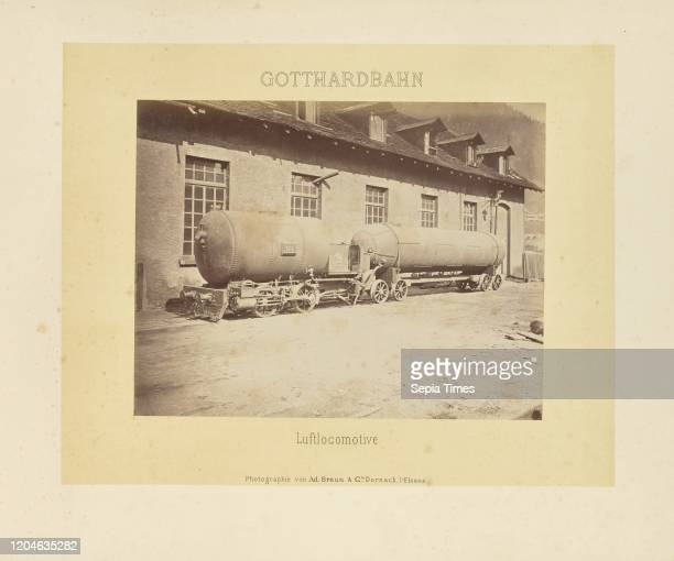 Luftlocomotive, Adolphe Braun & Cie , Dornach, France, about 1875Ð1882, Albumen silver print, 21.6 _ 27.8 cm .