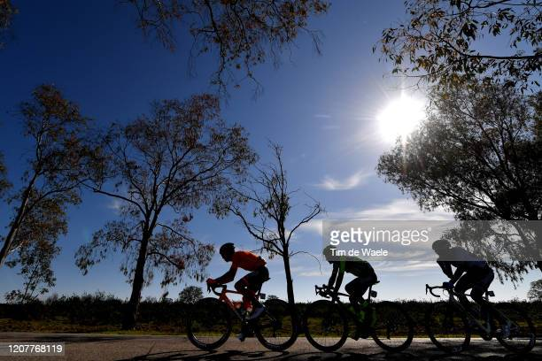 Gotzon Martin of Spain and Team Fundación - Orbea / Tiago Antunes of Portugal and Team Efapel / Alexander Grigoryev of Russia and Team Atum General /...