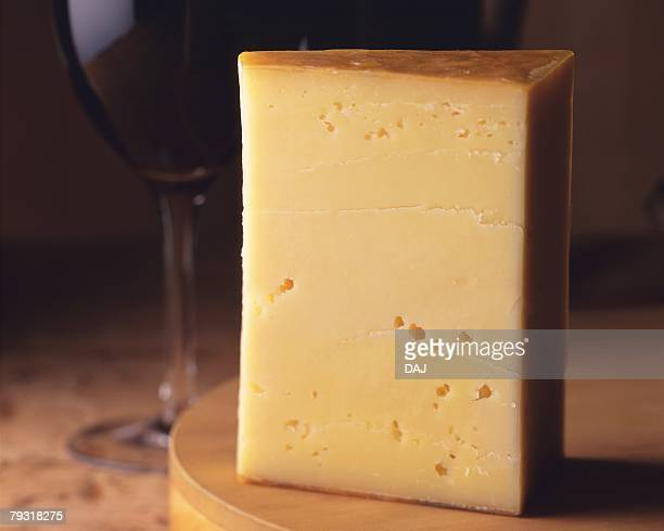 Gouda Cheese, Close Up, Differential Focus