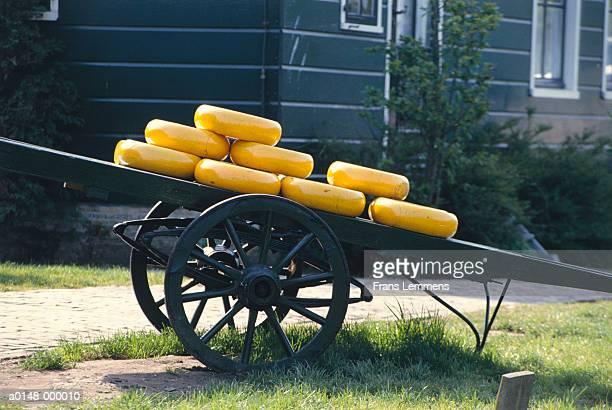 Gouda Cheese on Cart