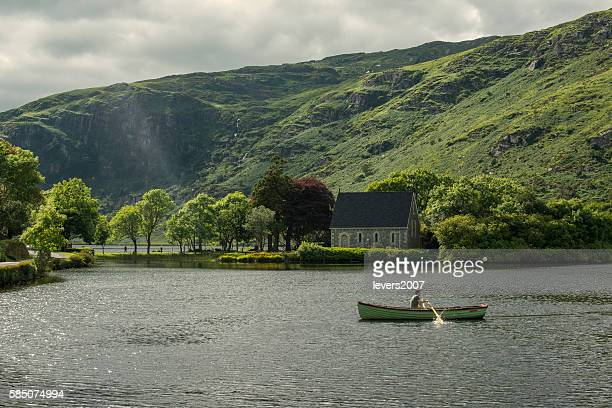 gougane bar - republic of ireland stock pictures, royalty-free photos & images