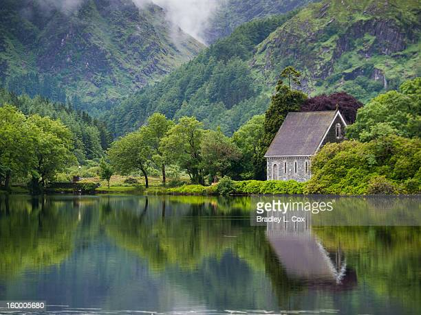 gougane barra forest park and lake - republic of ireland stock pictures, royalty-free photos & images
