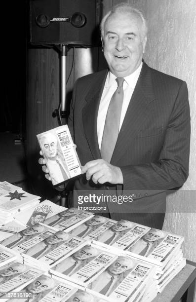 Gough Whitlam during his book launch in Melbourne