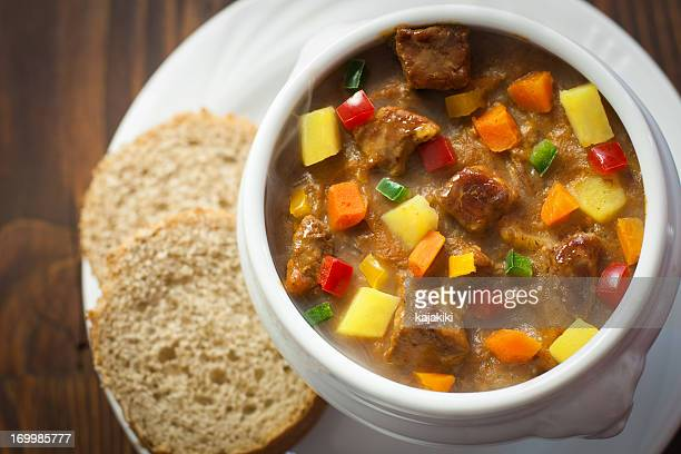 goulash - traditionally hungarian stock pictures, royalty-free photos & images