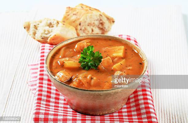 goulash soup - hungarian culture stock pictures, royalty-free photos & images