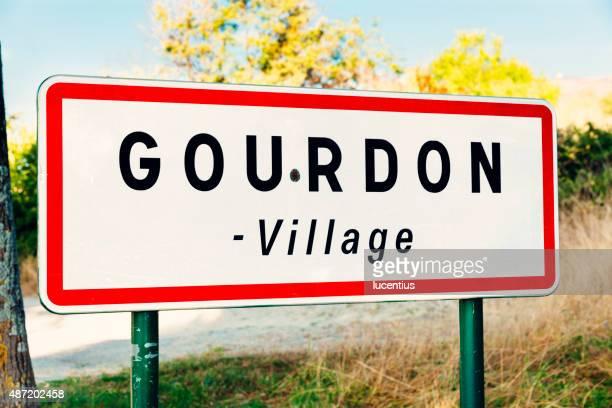 Gourdon panneau, Provence