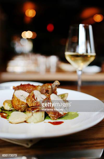 Gourmet Chicken Dinner Plate