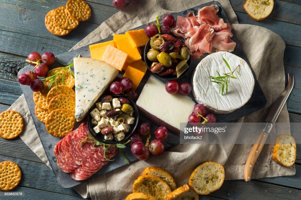 Gourmet Fancy Charcuterie Board : Stock Photo
