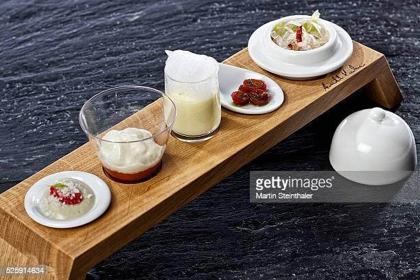 gourmet food arrangement