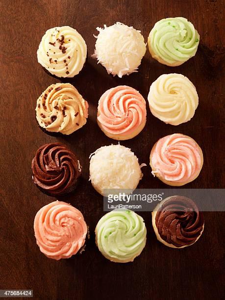 Gourmet Mini Buttercream Cupcakes