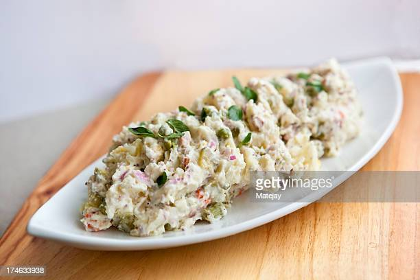 Gourmet potato salad