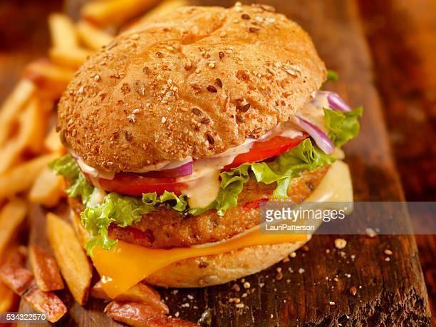 Hamburger vegetariano Gourmet con il saporitissimo Mayo