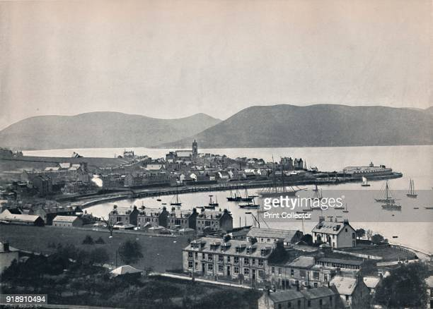'Gourock - The Town and the Harbour', 1895. From Round the Coast. [George Newnes Limited, London, 1895]Artist Unknown.