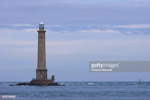 goury lighthouse - the hague stock-fotos und bilder