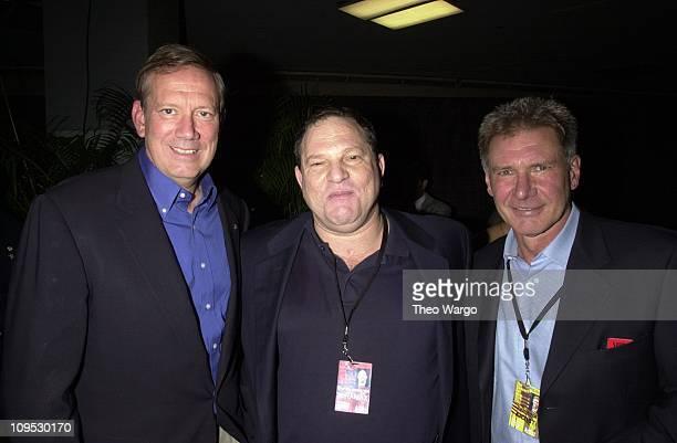 Gov George Pataki Harvey Weinstein Harrison Ford