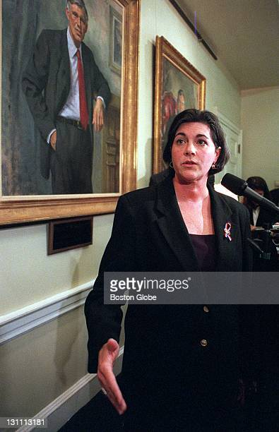 Gov Jane Swift has reconsidered the Ginny Buckingham severance package and held a press conference at the Mass State House to make the announcement