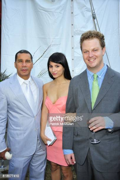 NY Govenor David Paterson Elizabeth Shafiroff and Brian Woodward attend AN ENCHANTED EVENING Southampton Hospital's 52nd Annual Summer Party at...