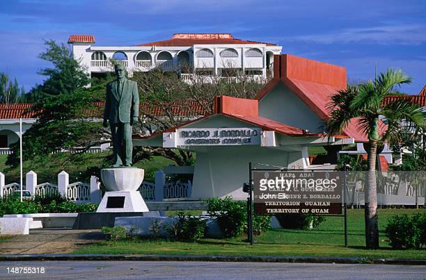 governa's office complex in hagatna. - guam stock pictures, royalty-free photos & images