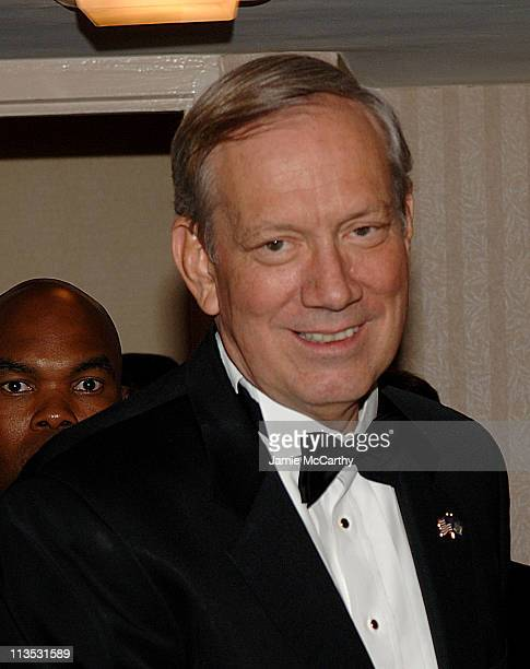 Governer George Pataki during Bloomberg News Cocktail Party April 29 2006 at Washington Hilton Edison Suite in Washington DC United States