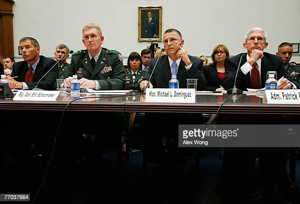 US Government Accountability Office Director on Education Workforce and Income Security Daniel Bertoni Walter Reed Army Medical Center Commander...