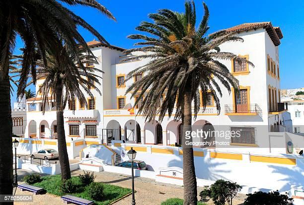 Government building on Amargura street Tarifa Cadiz province Spain