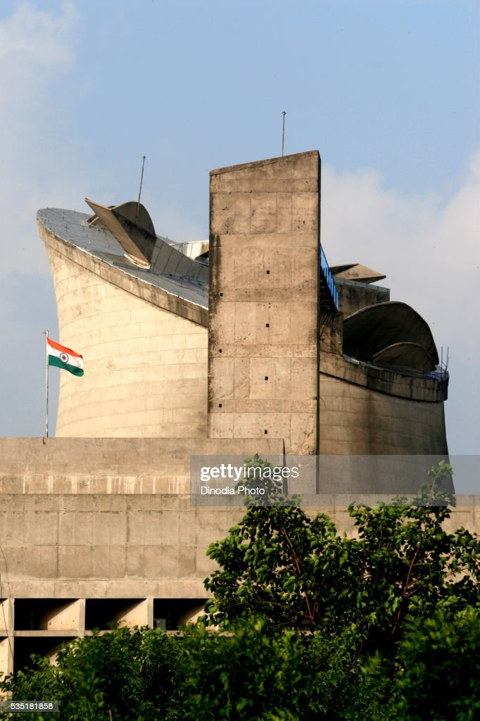 Government Building, Parliament and Assembly Hall in Chandigarh, Punjab State, India.