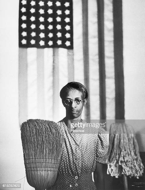 Government Charwoman Mrs Ella Watson Washington DC August 1942