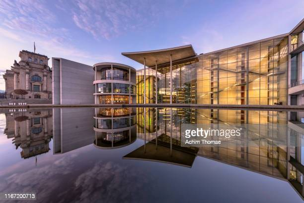 government district, berlin, germany, europe - bundestag stock pictures, royalty-free photos & images