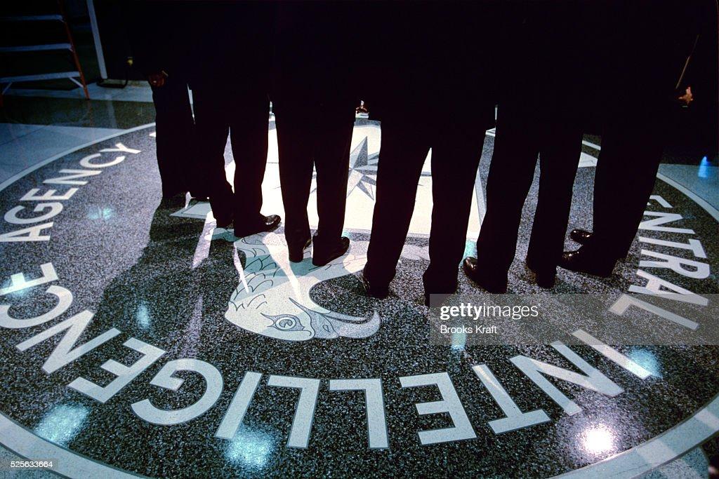 Inside the CIA : News Photo