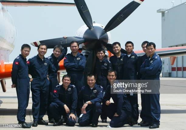 Government Flying Service pilots set several world records with last week's rescue of mainland sailors pictured with a Jetstream at GFS headquarters...