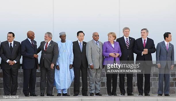 Government leaders Egyptian President Hosni Mubarak Senegalese President Abdoulaye Wade Brazilian President Luiz Inacio Lula da Silva Nigerian...