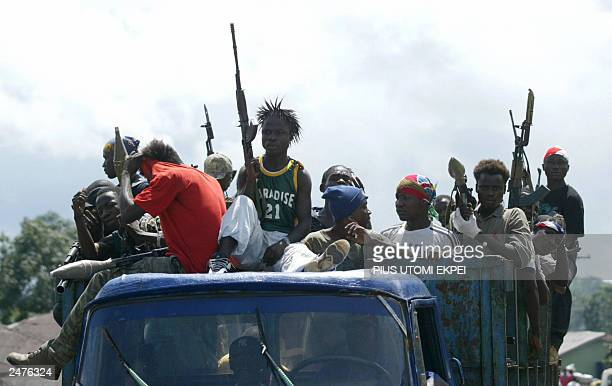 Government militias advance to confront LURD rebels in northcentral Liberia 05 September 2003 Thousands of residents of Totota and neighbouring...