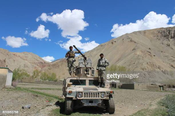 """Government officials in Badakhshan province in the north-east of Afghanistan on 22 July 2017 say the Taliban group """"killed 11 local police..."""