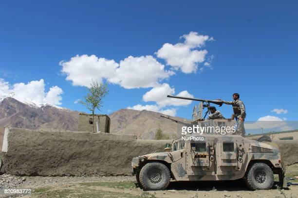 Government officials in Badakhshan province in the northeast of Afghanistan on 22 July 2017 say the Taliban group quotkilled 11 local police officers...