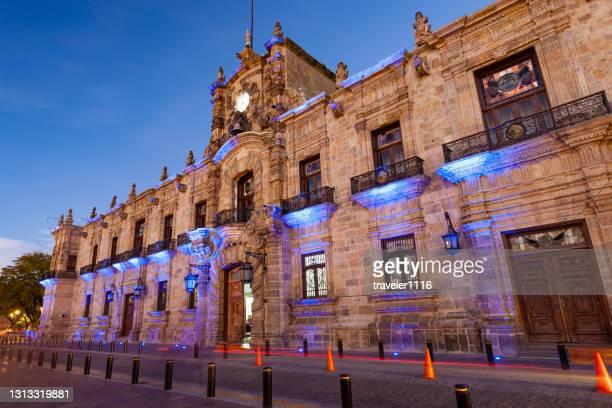 グアダラハラの政府宮殿、ハリスコ州、メキシコ。 - メリダ ストックフォトと画像