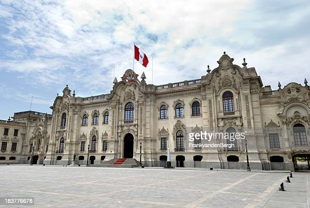 government palace - lima stock pictures, royalty-free photos & images