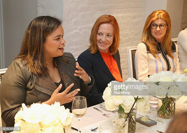 Government & Politics Outreach Manager at Facebook, Crystal Patterson, Whitehouse Communications Director, Jen Psaki, and actress Connie Britton...