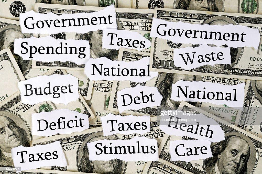 Government Spending : Stock Photo