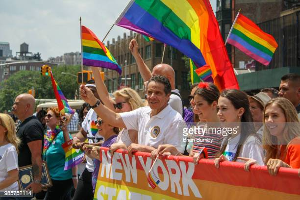 Governor Andrew Cuomo at NYC Gay Pride Parade