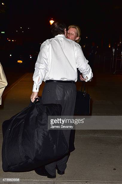 Governor Andrew Cuomo greets Sandra Lee in Manhattan early Tuesday morning and drives her to a New York City hospital where she's scheduled to...