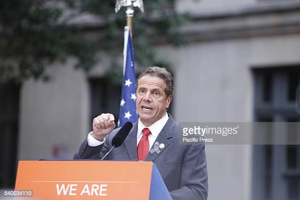 NY governor Andrew Cuomo references James Baldwin in speech on Christopher Street NY governor Andrew Cuomo NYC mayor Bill de Blasio appeared together...